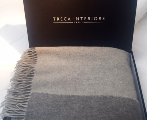 Treca Interiors Paris - Treca Plaid Kaschmir