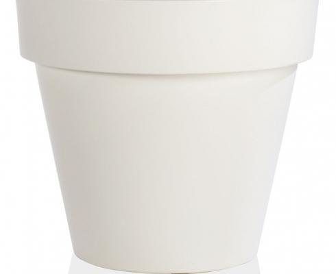 Blumentopf Kunststoff Weiß Ø 50cm x H 43cm | Tera Plast - STILPUNKTE