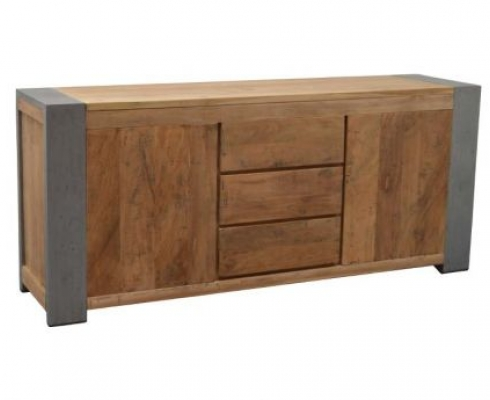 Sideboard Holz Stahl Industriedesign Woods Kollektion Stilpunkte