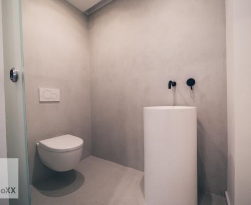 Beton Cire Showroom : Fugenloses design edle optik beton ciré stilpunkte