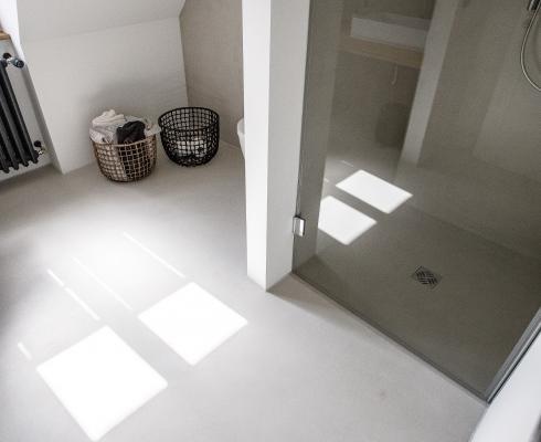 Fugenloses design edle optik beton ciré stilpunkte
