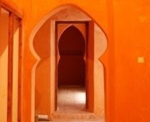 Marokkanischer traditioneller kalkputz tadelakt stilpunkte
