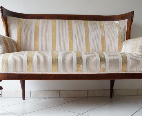 1880 Spätbiedermeier 1840 Sofa Antik Philippe Couch Louis Neu 4jA35RL