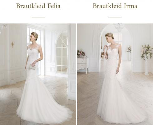 Frida Claire - Fit' n Flare Brautkleid - Mermaid - Meerjungfrau