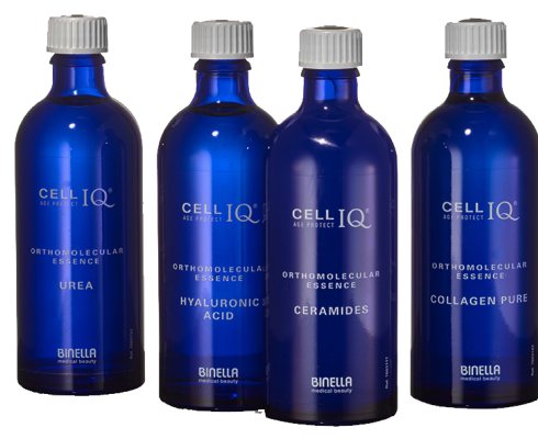 Binella medical Beauty - BINELLA CELL IQ® ORTHOMOLECULAR ESSENCES
