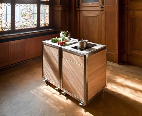die mobile k che im haus neoculina stilpunkte. Black Bedroom Furniture Sets. Home Design Ideas