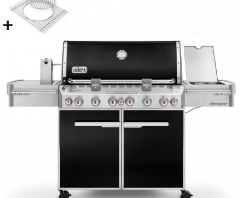 weber gasgrill summit e670 schwarz gbs weber grill. Black Bedroom Furniture Sets. Home Design Ideas