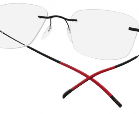 Der klassiker unter den randlosen brillen minimal art for Minimal art silhouette