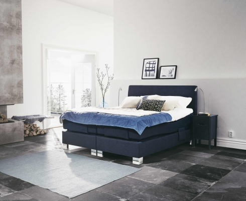 boxspringbetten von jensen zum einsteigerpreis jensen stilpunkte. Black Bedroom Furniture Sets. Home Design Ideas