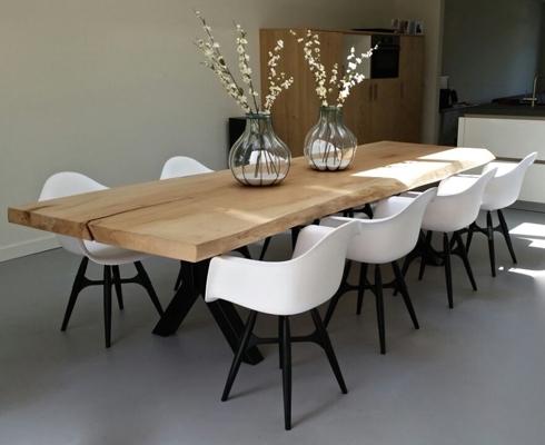 baumstammtische nach ma woodzs stilpunkte. Black Bedroom Furniture Sets. Home Design Ideas