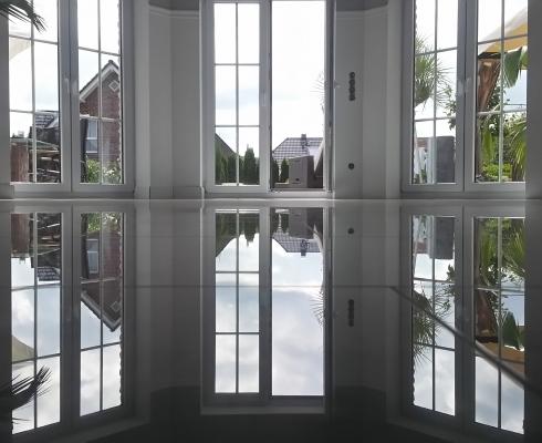Schleifen Polieren Marmor Naturstein STILPUNKTE - Fliesenversatz