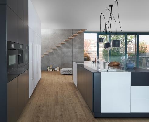 einbauk che leicht k chen stilpunkte. Black Bedroom Furniture Sets. Home Design Ideas
