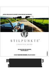 Stilpunkte Lifestyle Guide eMagazin Frühjahr/Sommer 2013 - Bonn und Umgebung