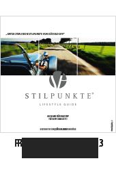 Stilpunkte Lifestyle Guide eMagazin Frühjahr/Sommer 2013 - Düsseldorf