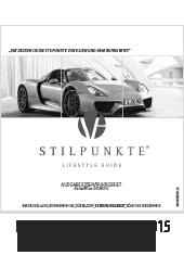 Stilpunkte Lifestyle Guide eMagazin 2014/2015 - Essen Ruhrgebiet