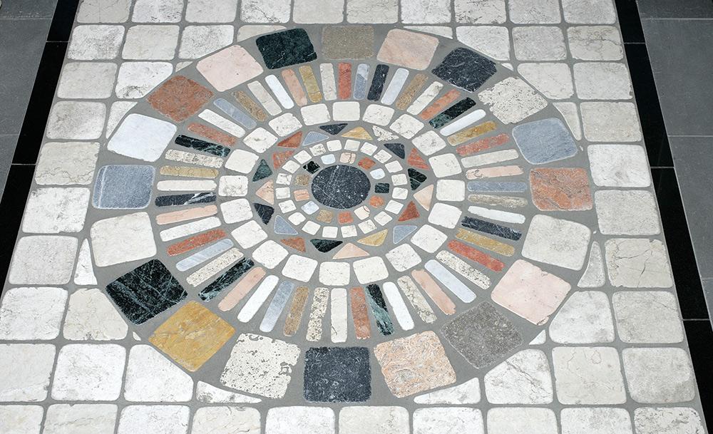 Stilpunkte-Blog: Mosaik aus Natursteinen, Natursteinfliesen