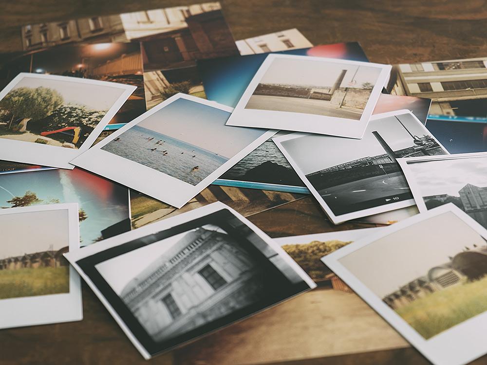 Stilpunkte-Blog: Sofortbilder und Polaroid-Fotos aus der Zeit der analogen Fotografie