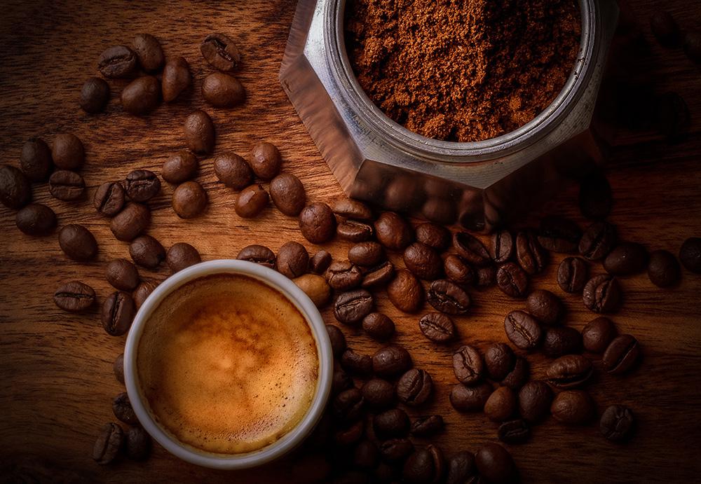Stilpunkte-Blog: Kaffeegenuß pur, Cafe Crema, gemahlen und Kaffeebohnen