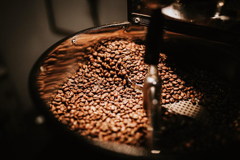 Stilpunkte-Blog: DasRösten der Kaffeebohnen in der Kaffeerösterei