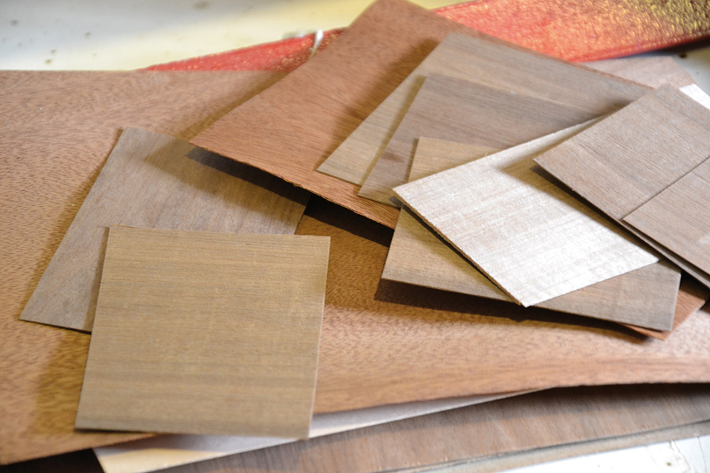 Stilpunkte-Blog: Ausgangsmaterial für eine Holzbrille. Foto: Schümmer Optik