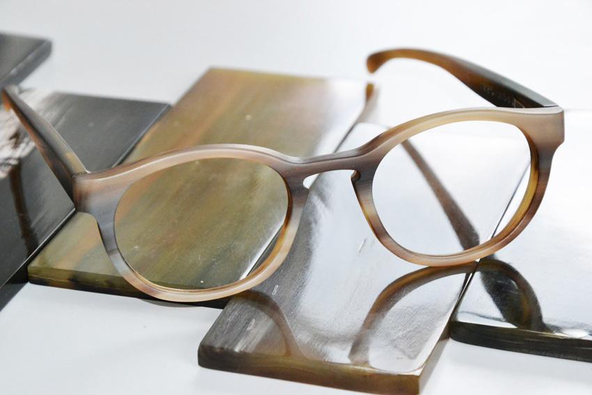 Stilpunkte-Blog: Hornbrille. Foto: Schümmer Optik