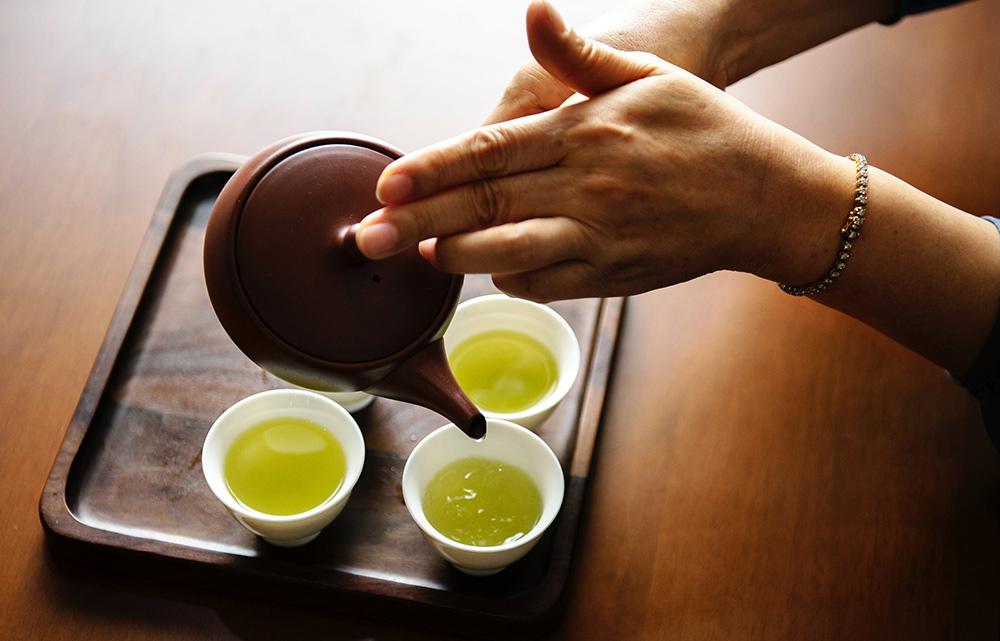 Stilpunkte-Blog: Grüner Tee geniessen, abnehmen, fit werden