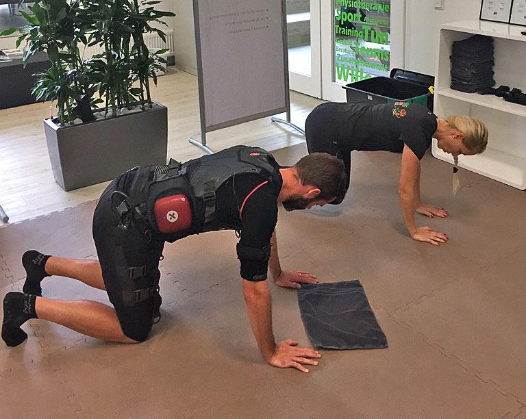 Stilpunkte-Blog: EMS-Training bei PRO EMS Rinke in Köln.