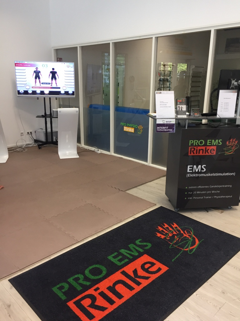 Stilpunkte-Blog: Trainingsraum bei PRO EMS Rinke in Köln.