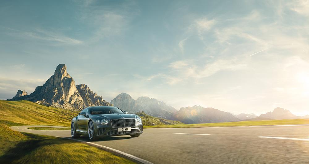 Stilpunkte-Blog: Bentley New Continental. Foto: Pon Luxury Cars / Bentley