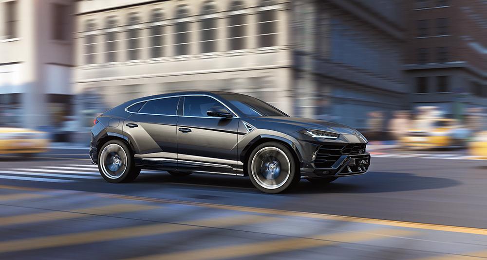 Stilpunkte-Blog: Der Lamborghini Urus in Aktion. Foto: Pon Luxury Cars / Lamborghini
