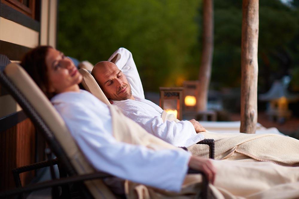 STILPUNKTE-Blog: Ruhe nach dem Saunagang. Foto: Neptunbad