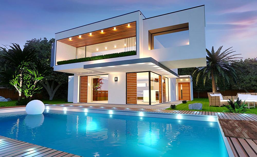 Nullenergiehaus: Wohnen in der Zukunft mit Smart Home, Smart Living Konzepte versprechen nicht nur Energieeffizienz, sondern auch Zeitgewinn und Komfort.
