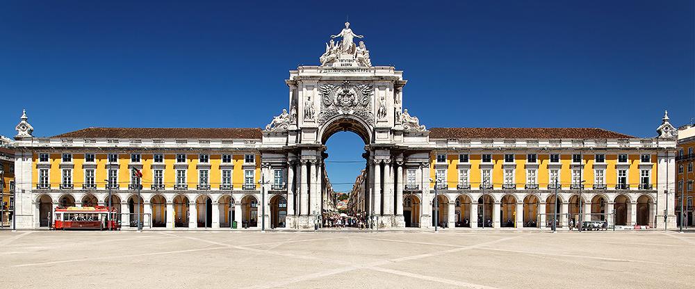 STILPUNKTE-Reisetipp: Lissabon mit dem Praca do Comercio