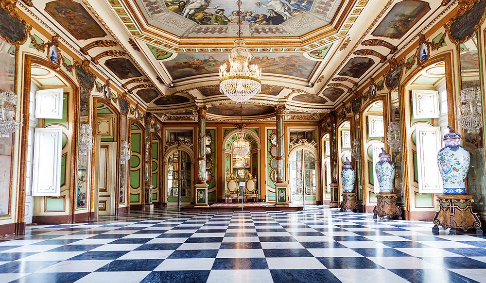 STILPUNKTE-Reisetipp: Lissabon mit dem Nationalpalast von Queluz bei Sinatra