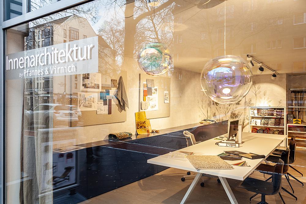 Pfannes + Virnich, Innenarchitektur, Wandgestaltung, Wohnberater, Design, Kollektionen von Elitis, CMO, Wall&Deco und Arte.