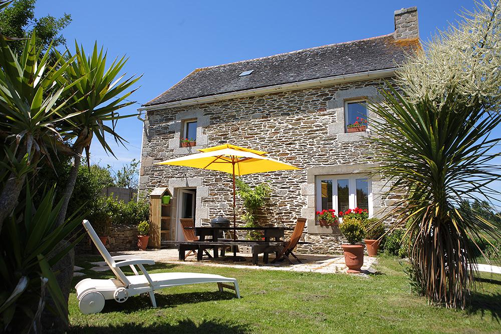 Stilpunkte-Blog: Ein Bretagne-Urlaub mi Ferienhaus ist die angenehmste Art, mit Kindern und Hund in der Bretagne Urlaub zu machen.