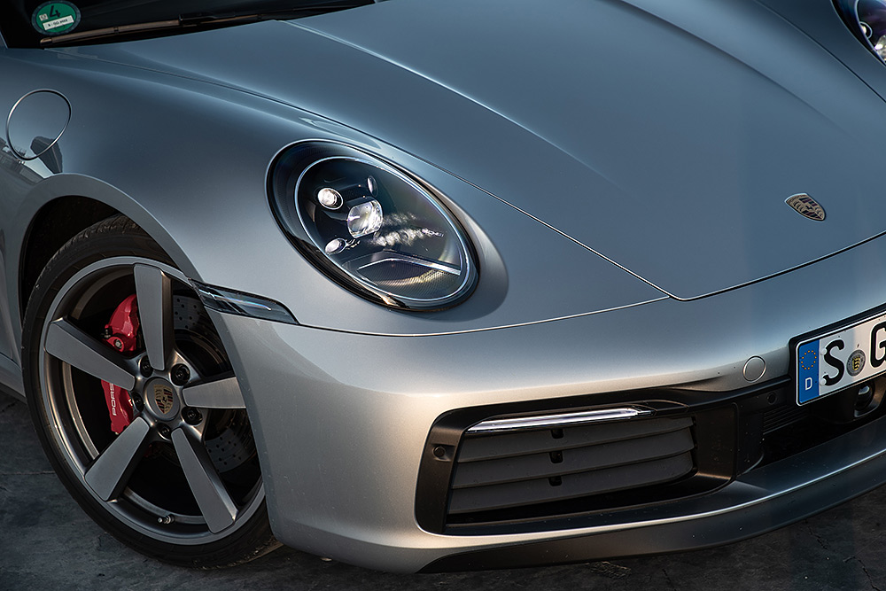 Stilpunkte-Blog: Markante Front, der neue Porsche 911 Carrera S