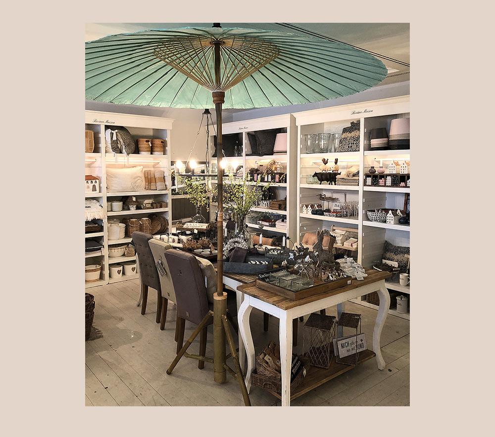Stilpunkte-Blog: Mit vielfältigen Einrichtungsideen lädt der Concept Store Strandgut in Köln-Rodenkirchen ein zum Stöbern und Shoppen..