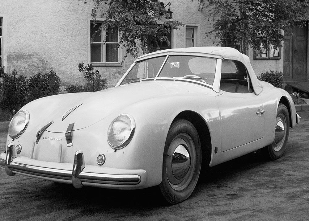 Der Porsche 356 America Roadster von 1952