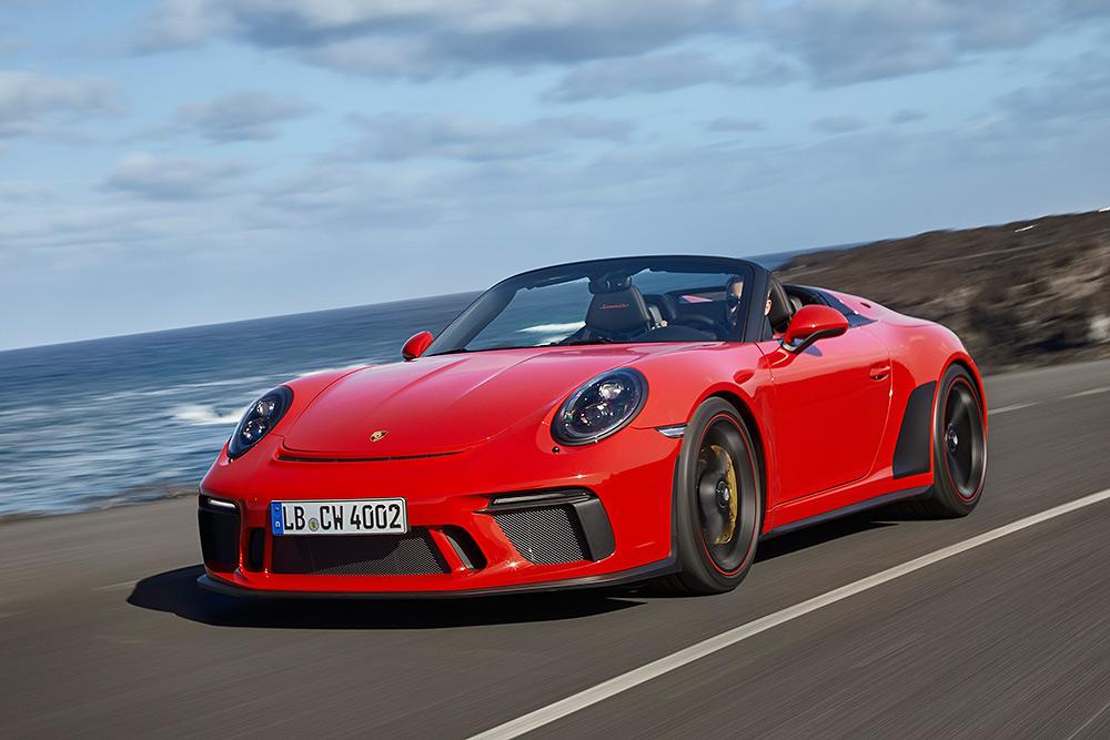 STILPUNKTE-Blog: Der neue Porsche Speedster 911, Modell 991.