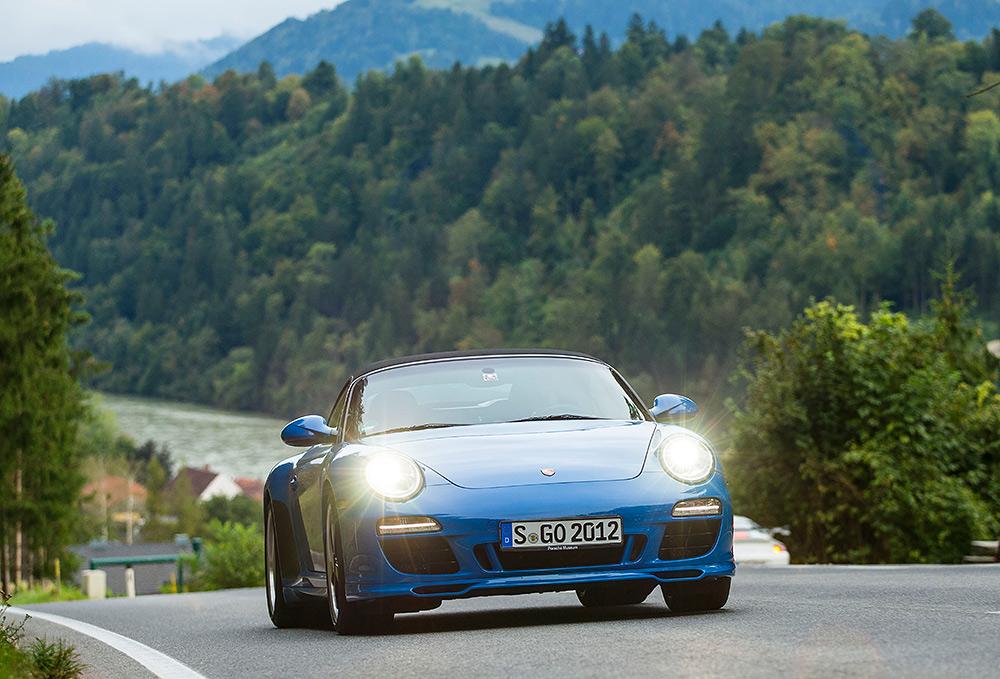 STILPUNKTE-Blog: Der Porsche Speedster 911, Modell 997.