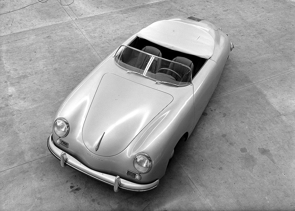 Porsche 356 Speedster 1500 von 1954