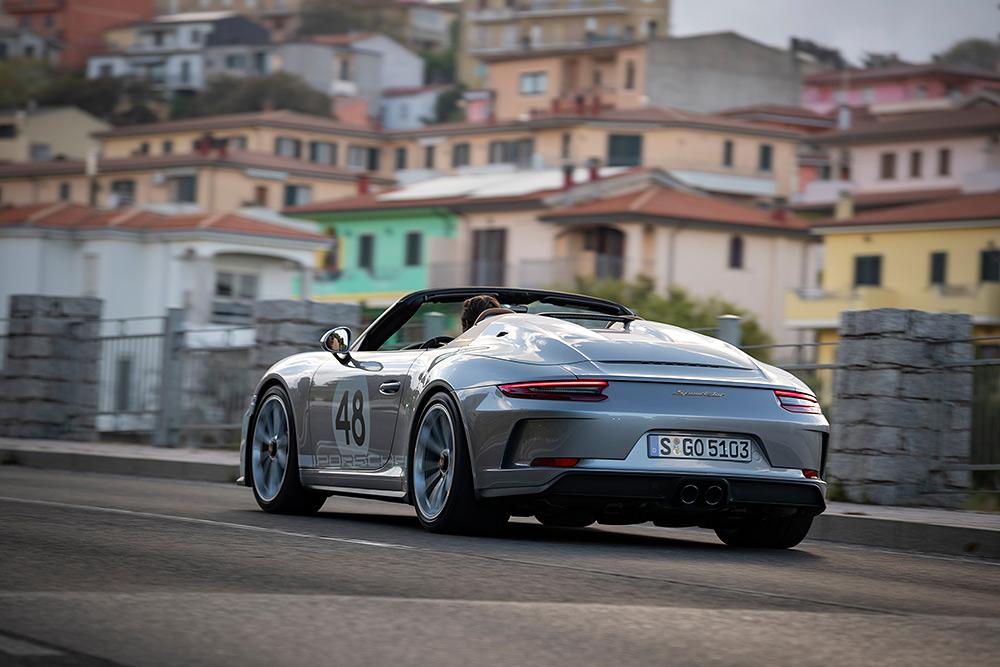 Stilpunkte-Blog: Porsche 911 Speedster Modell 991 in Sonderausführung Heritage-Design.