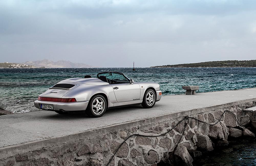 STILPUNKTE-Blog: Der Porsche Speedster 911, Modell 964.
