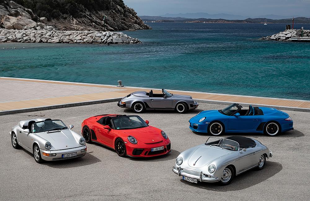 Stilpunkte-Blog: Porsche Speedster Generationentreffen
