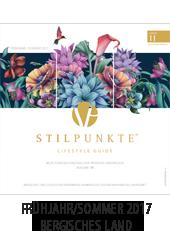 STILPUNKTE Lifestyle Guide Bergisches Land Frühjahr/Sommer 2017