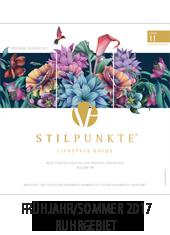 STILPUNKTE LIFESTYLE GUIDE Ruhrgebiet Frühjahr/Sommer 2017