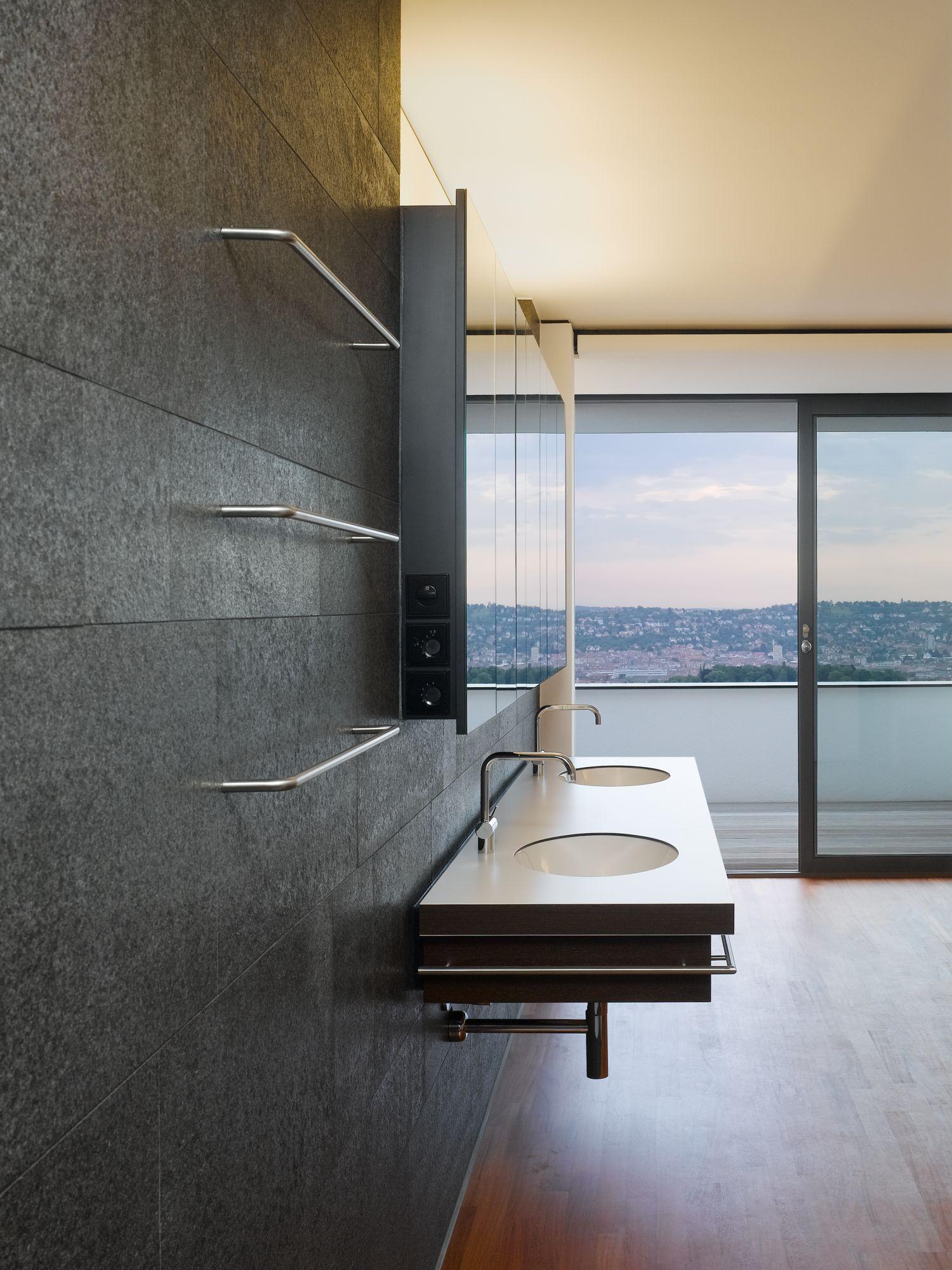 Stilpunkte-Blog: Badezimmer, Haus am oberen Berg, Alexander Brenner, Foto: Zooey Braun